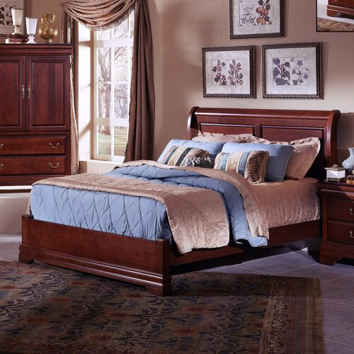 Vaughan-Bassett Barnburner Thirteen Panel Bed