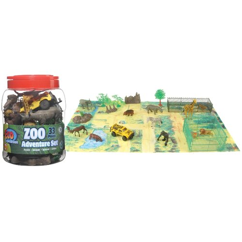 Eco Expedition Buckets Zoo Set