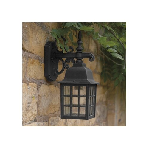 Dar Lighting Norfolk Downlight 1 Light Semi-Flush Wall Light
