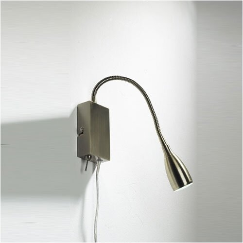 Dar Lighting Uno 1 Light Reading Wall Light