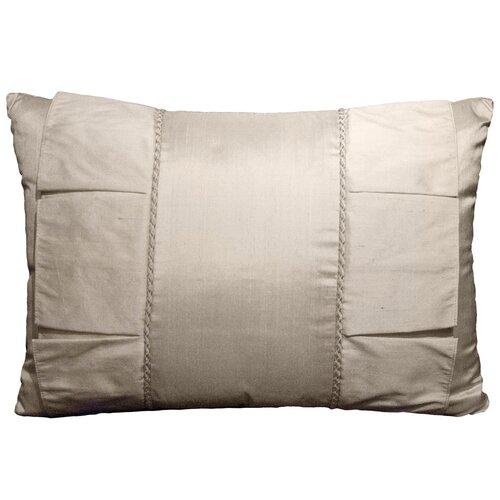 Rose Tree Linens Crystal Fabric Pleat Breakfast Pillow