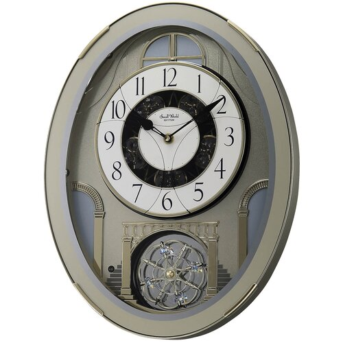 Rhythm U.S.A Inc Classic Brilliance Melody Wall Clock