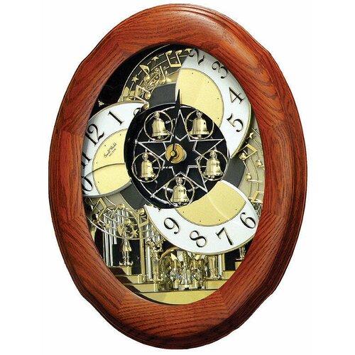 Rhythm U.S.A Inc Nostalgia Legend Melody Wall Clock