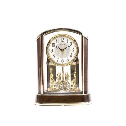 Rhythm U.S.A Inc Crystal Flare Melody Clock