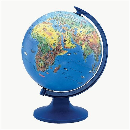 Replogle Globes Globe 4 Kids Educational Globe
