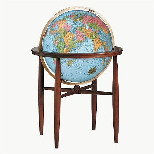 Replogle Globes Finley Blue Illuminated World Globe