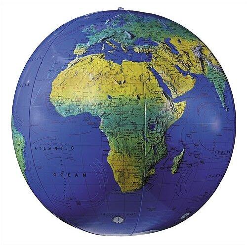 """Replogle Globes 16"""" Inflate-A-Globes in Dark Blue"""