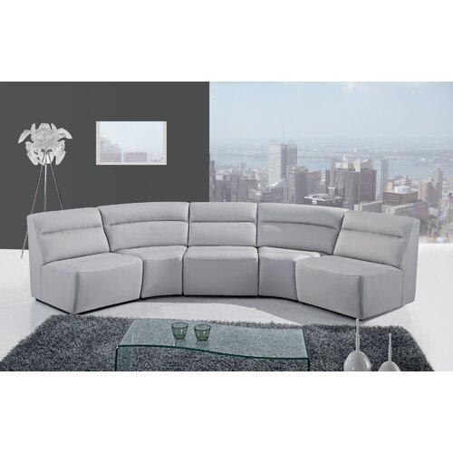 Global Furniture USA 5 Piece Sectional