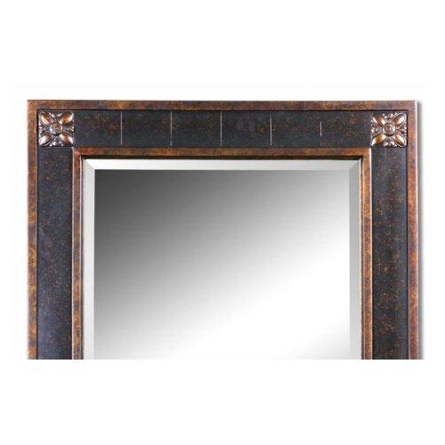 uttermost bergamo rectangular beveled vanity mirror reviews wayfair. Black Bedroom Furniture Sets. Home Design Ideas