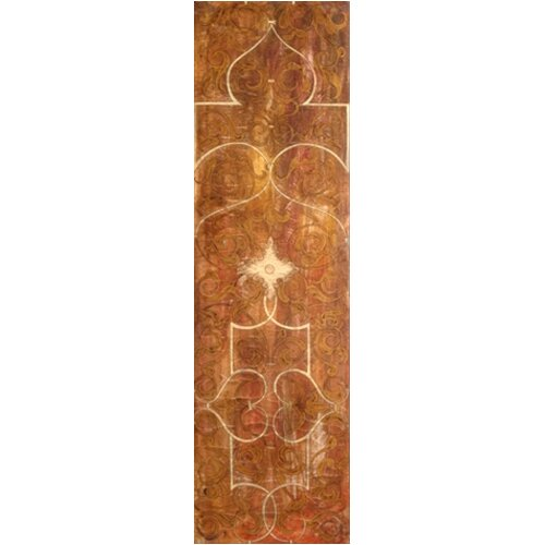 Uttermost Scrolled Panel by Grace Feyock 3 Piece Original Painting Set