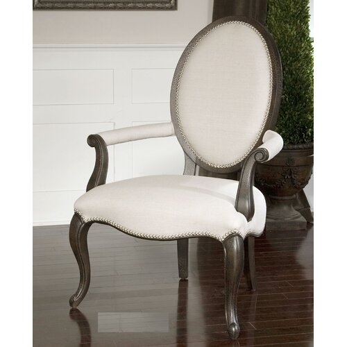 Uttermost Anne Linen Occasional Arm Chair