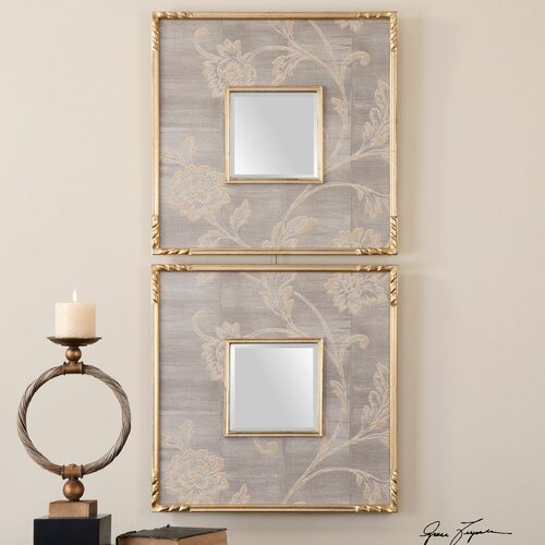 Evelyn Square Mirror (Set of 2)