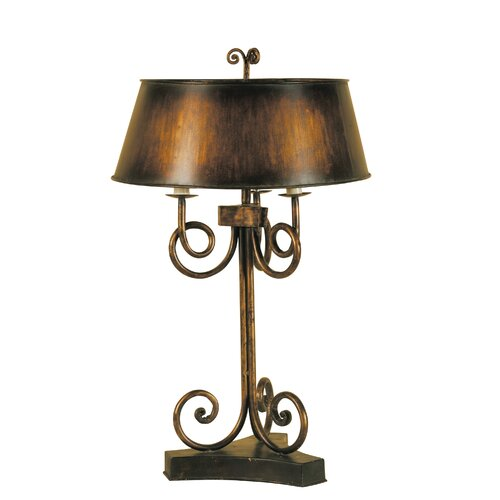 "Uttermost Skyler 35"" H Table Lamp with Empire Shade"