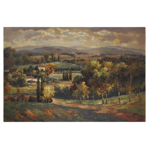 Uttermost Scenic Vista by Grace Feyock Original Painting on Canvas