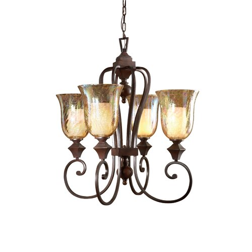 Elba 4 Light Chandelier
