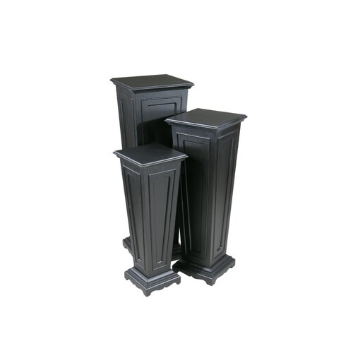 Keir Pedestal Plant Stand (Set of 3)