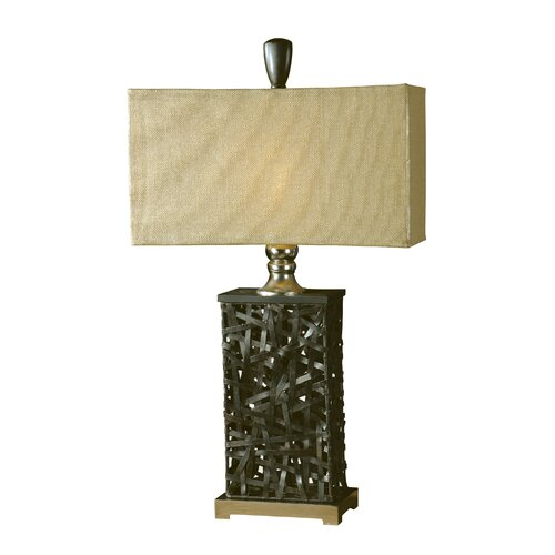 "Uttermost Alita 33"" H Table Lamp with Rectangle Shade"
