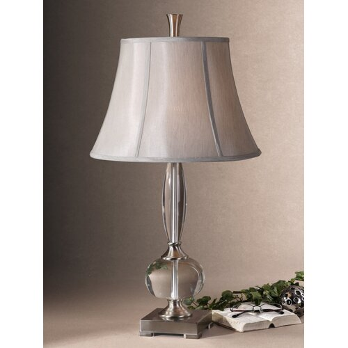 "Uttermost Labonia 31"" H Table Lamp with Bell Shade"