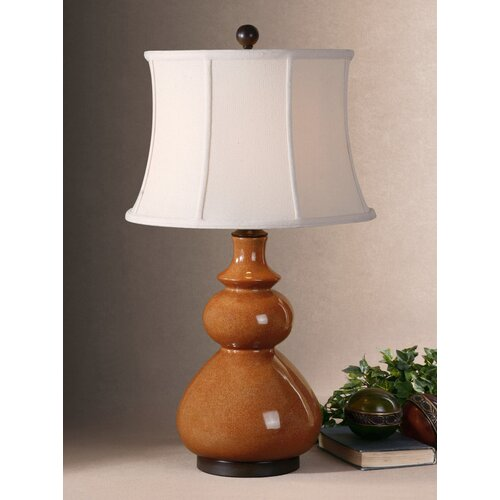 """Uttermost Belfast 31"""" H Table Lamp with Bell Shade"""