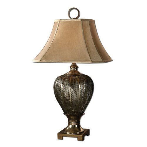 "Uttermost Cupello 33"" H Table Lamp with Bell Shade"