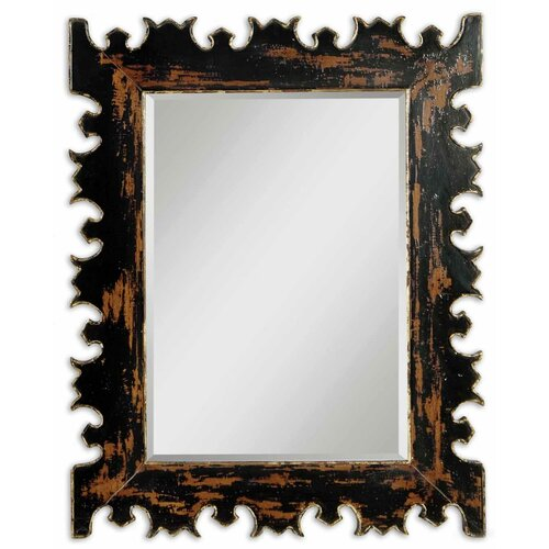 Uttermost Caissa  Beveled Wall Mirror