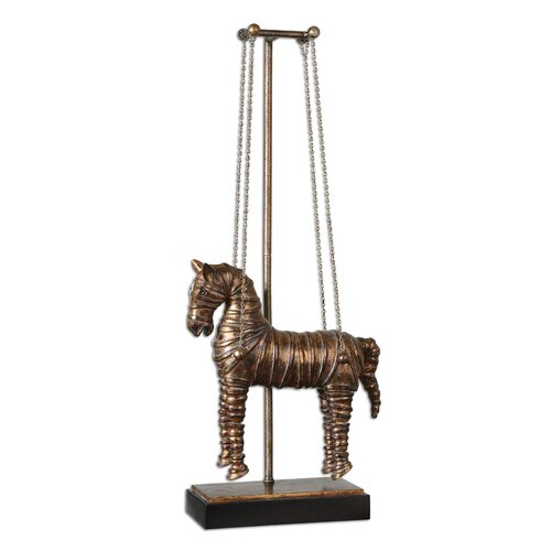 Stedman Horse Sculpture in Copper Bronze