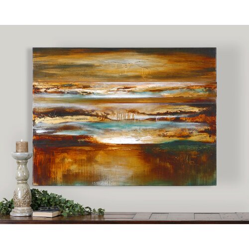 Uttermost Mystical Evening by Grace Feyock Original Painting on Canvas