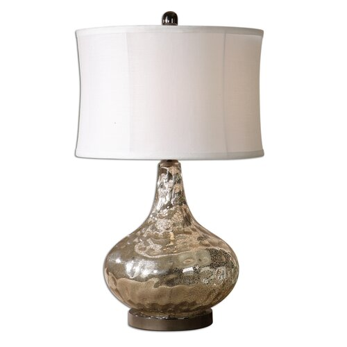 "Uttermost Vizzini 25"" H Table Lamp with Drum Shade"