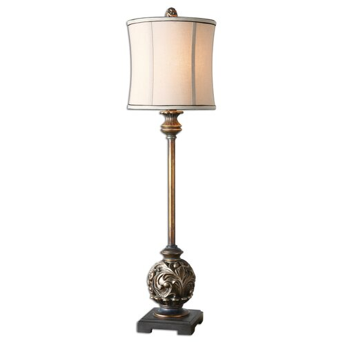 "Uttermost Shahla 35"" H Table Lamp with Drum Shade"