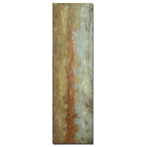 Red Clay Original Painting on Canvas
