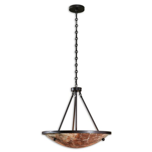 Uttermost FW Generic Ravenna 3 Light Inverted Pendant