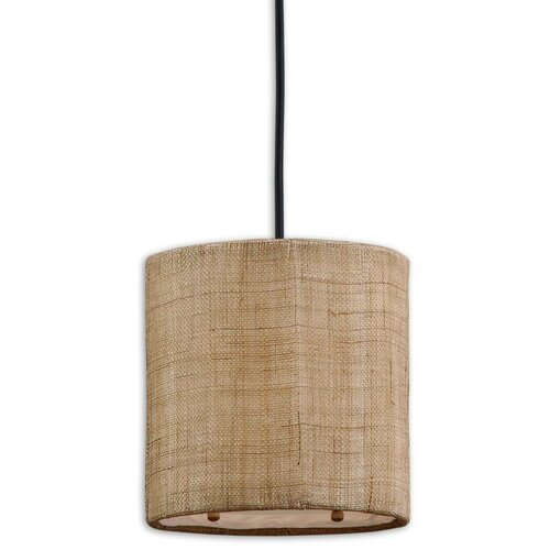 Uttermost CK Generic 1 Light Mini Dafina Drum Foyer Pendant