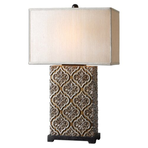 """Uttermost Curino 31"""" H Table Lamp with Rectangle Shade"""