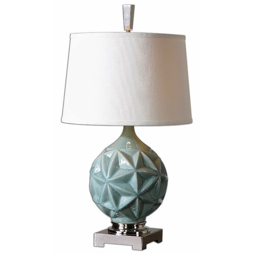 """Uttermost Chelan 28"""" H Table Lamp with Empire Shade"""