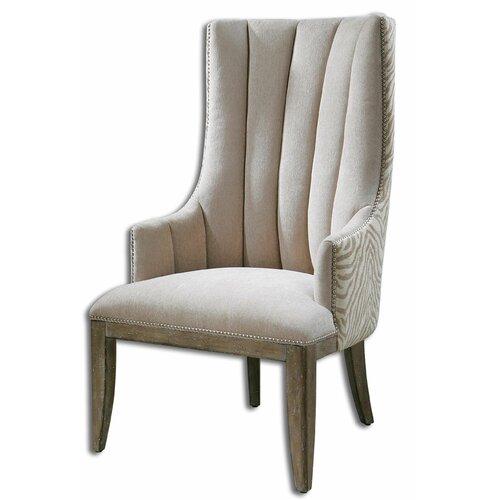 Zyla Chenille Arm Chair
