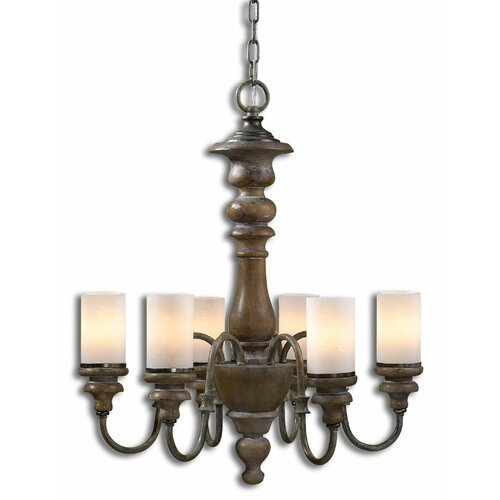 Uttermost Torreano 6 Light Chandelier