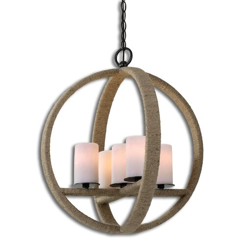 Uttermost Gironico Round 5 Light Mini Pendant
