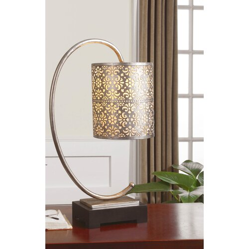 """Uttermost Faleria 24"""" H Table Lamp with Drum Shade"""