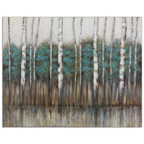 Edge of the Forest Original Painting on Canvas