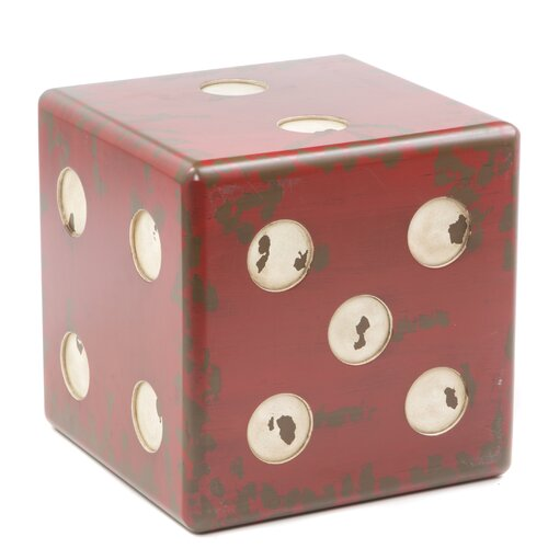 Uttermost Dice End Table & Reviews