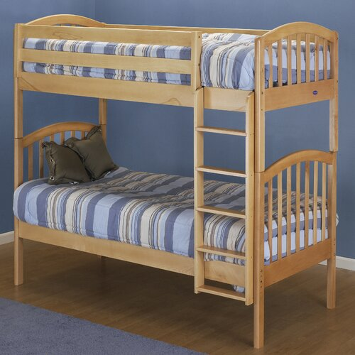 Orbelle Trading Classic Twin over Twin Bunk Bed