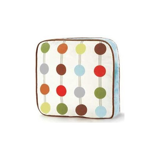 Bacati Mod Dots and Stripes Decorative Pillow