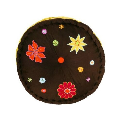 Valley of Flowers Floor Pillow
