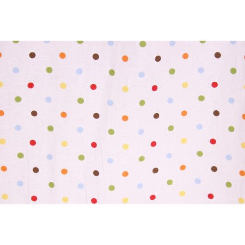 Baby and Me Dots Crib Fitted Sheet
