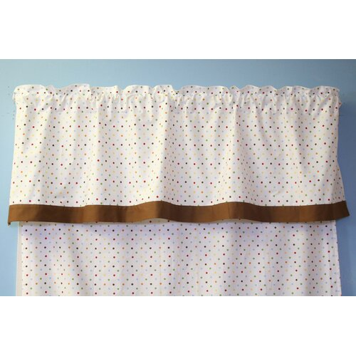 "Bacati Baby and Me 58"" Curtain Valance"