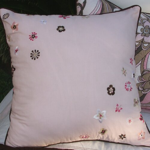 Retro Flowers Pillow
