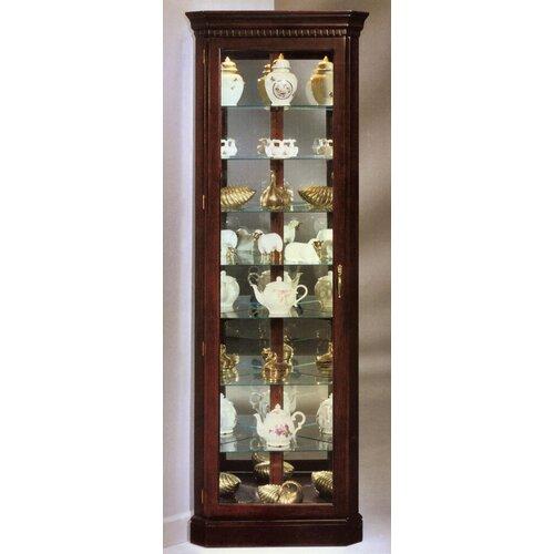 Lighthouse Octave III Corner Curio Cabinet