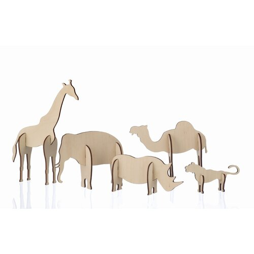 ferm LIVING Plywood Animals