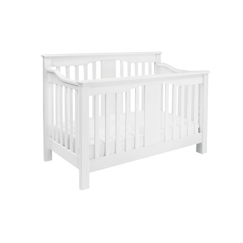 Annabelle 4-in-1 Convertible Crib with Toddler Bed Conversion Kit