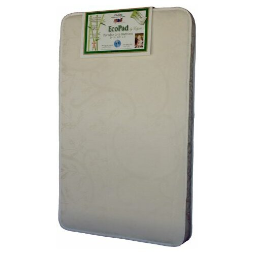 EcoPad Ecologically Friendlier Portable Crib / Mini Crib Mattress